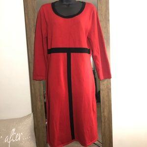 🎟Jones New York Body-con Sweater Dress